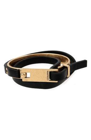ALLSAINTS Leather Wrap Bracelet | Nordstrom