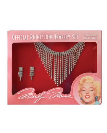 Marilyn Monroe Jewelry Set