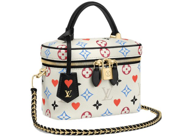 Louis Vuitton Vanity PM Game On White