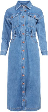Dahlia Cargo Pocket Midi Dress