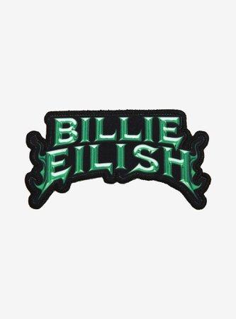 Billie Eilish Name Patch