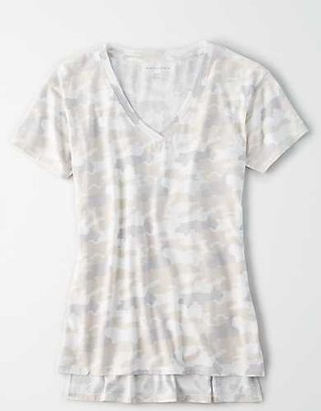 AE V-Neck T-Shirt white
