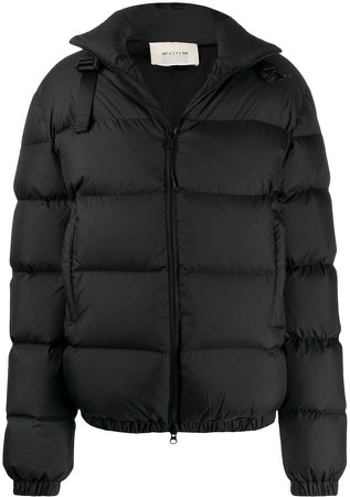 zipped down jacket
