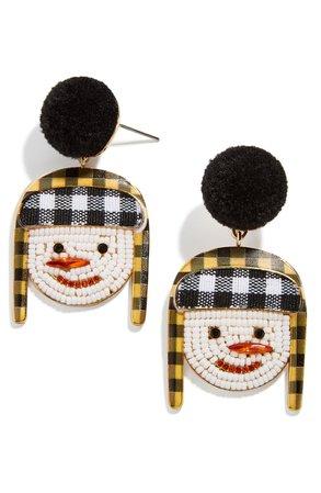 BaubleBar Snowman Drop Earrings | Nordstrom