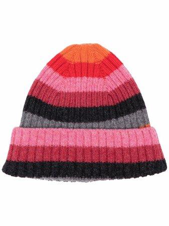 Molly Goddard stripe-knit Hat - Farfetch