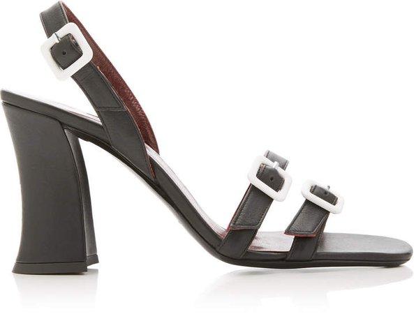 Staud Jamie Leather Sandals