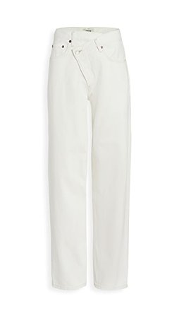 AGOLDE Crisscross Upsized Jeans | SHOPBOP