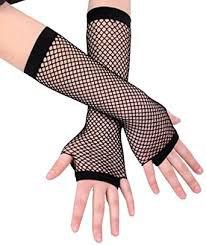 fishnet gloves - Google Search