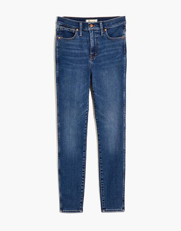 "10"" High-Rise Skinny Jeans in Wendover Wash: TENCEL™ Denim Edition"