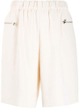Travel crepe shorts
