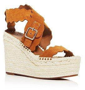 Women's Lauren Espadrille Platform Wedge Sandals