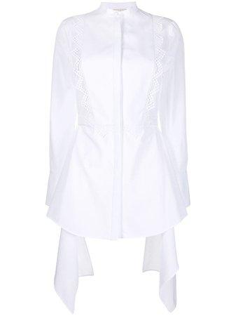 Alexander McQueen Draped Shirt - Farfetch