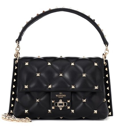 Valentino Garavani Candystud leather shoulder bag