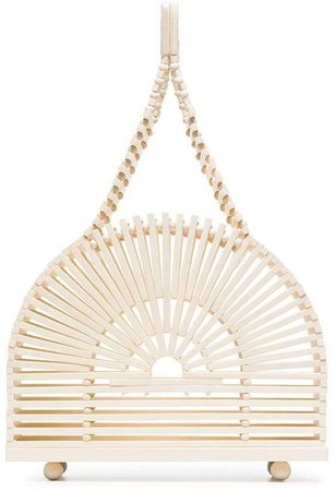 natural Cupola dome wooden tote