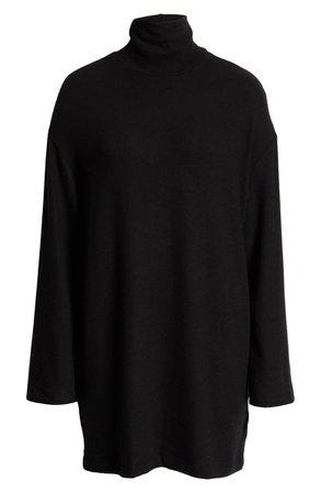 Reformation Aspen Turtleneck Long Sleeve Minidress | Nordstrom
