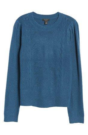 Halogen® Stitch Front Sweater   Nordstrom