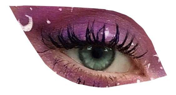 purple png eye filler