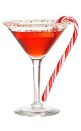christmas martini drink