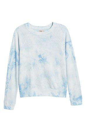 Women's Bells Tie Dye Cotton Sweatshirt   Nordstrom