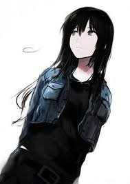 black haired anime girl - Google Search