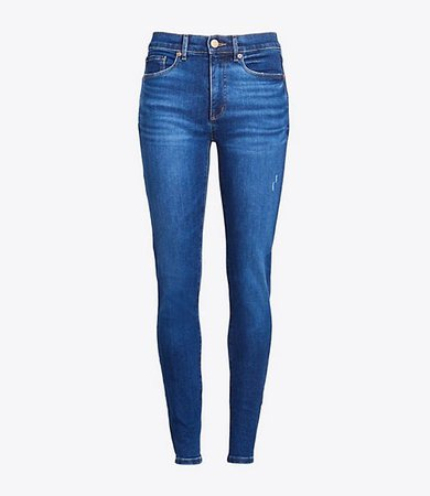 Petite Skinny Jeans in Rich Authentic Indigo Wash