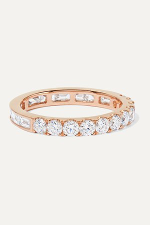 Rose gold 18-karat rose gold diamond ring | Anita Ko | NET-A-PORTER
