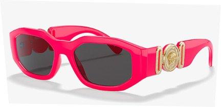 pink Versace glasses