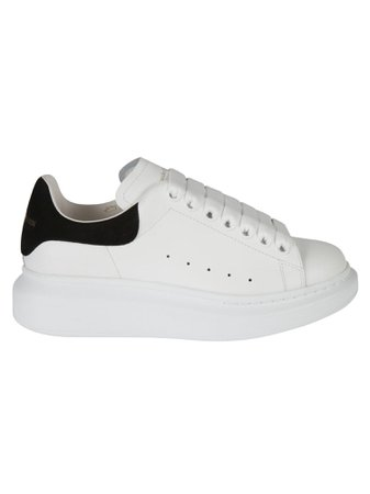 Alexander McQueen Leather Oversized Sneakers