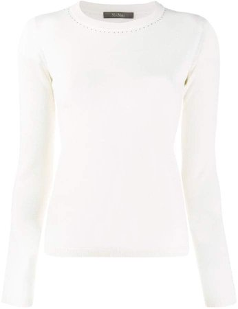 long sleeved knit top
