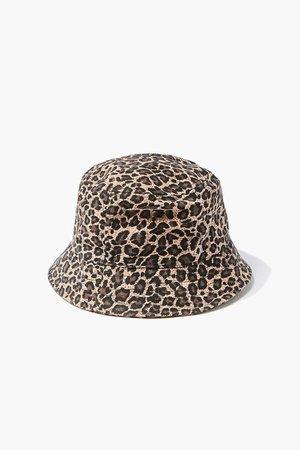 Leopard Print Bucket Hat | Forever 21
