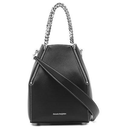 Heraldic Medium leather shoulder bag