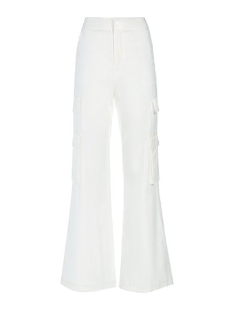 HAYES WIDE LEG CARGO PANT   Alice and Olivia