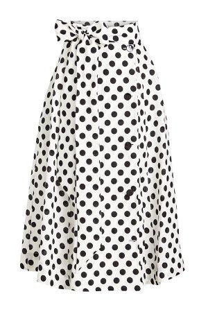 Diana Printed Linen Skirt Gr. 1
