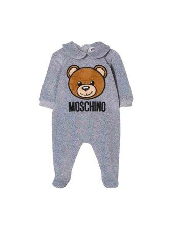 Moschino Moschino Teddy Bear Pajamas - Grigio - 11093882   italist