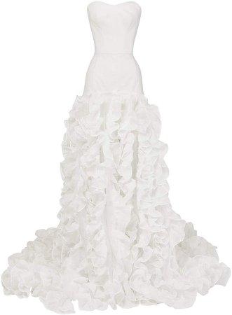 Maticevski Languish Ruffled Gown