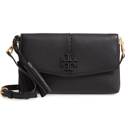 Tory Burch McGraw Leather Crossbody Bag | Nordstrom
