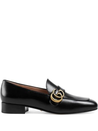 Gucci Double G Loafers 602496C9D00 Black | Farfetch