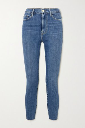 Ali High-rise Skinny Jeans - Mid denim