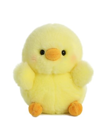 StuffedSafari Chickadee the Chick Stuffed Animal Rolly Pet by Aurora