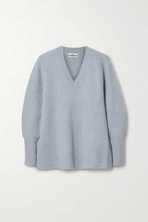 Co | Ribbed wool and cashmere-blend sweater | NET-A-PORTER.COM