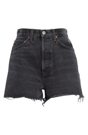 Re/Done '50s Cutoff Denim Shorts | Nordstrom