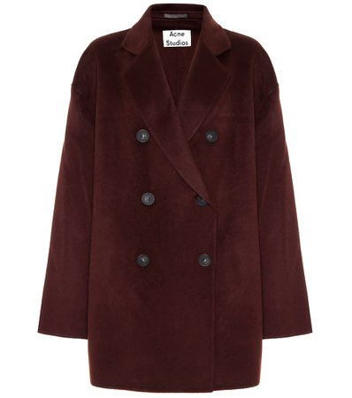 Acne Studios - Wool coat   Mytheresa