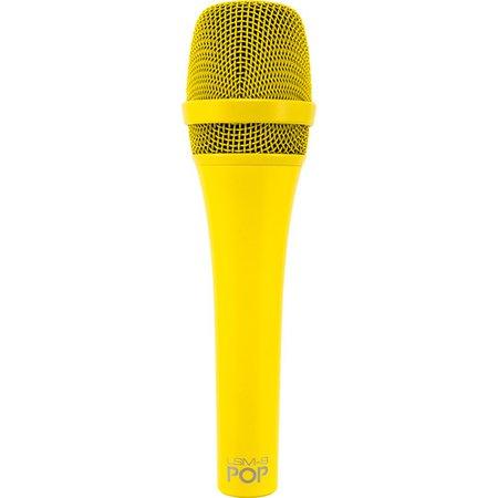 MXL POP LSM-9 Premium Dynamic Vocal Microphone LSM-9 POP YELLOW