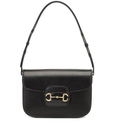 Gucci 1955 Leather Shoulder Bag - Gucci | Mytheresa