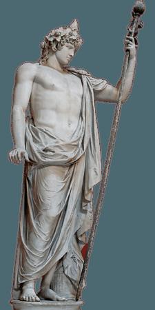 dionysus aesthetic statue