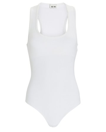 ALIX NYC Mia Scoop Neck Bodysuit | INTERMIX®