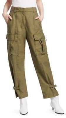 Women's Utility Cargo Pants - Olive - Size 0