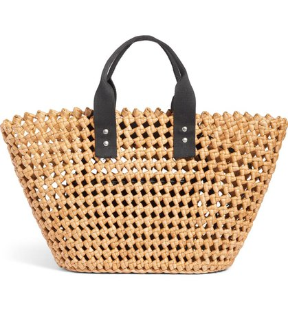 Nordstrom Open Weave Straw Tote | Nordstrom