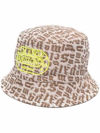 Palm Angels x Missoni Monogram Bucket Hat - Farfetch