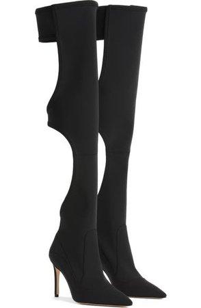 Good American The Offline Over the Knee Boot (Women) (Nordstrom Exclusive)   Nordstrom